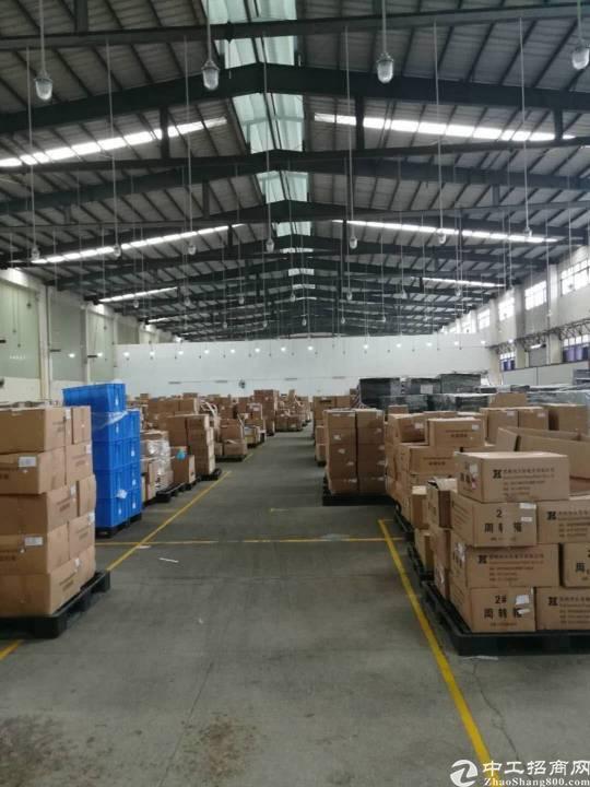 西乡固戍大型高薪园区钢钩厂房5000平米出租