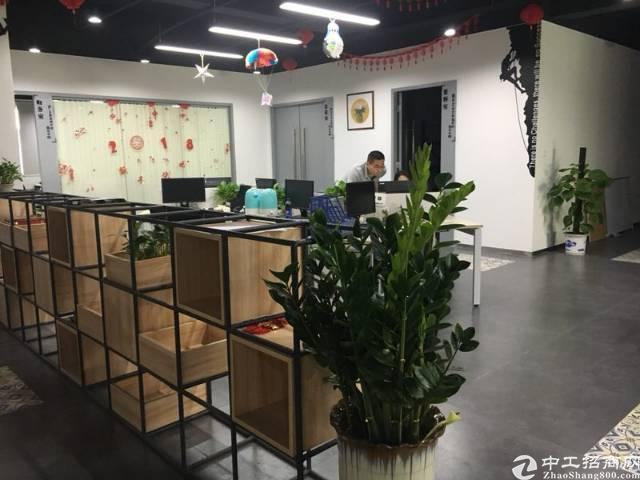 横岗六约带家具精装办公室300平招租