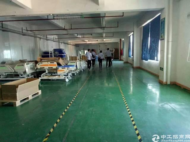 福永塘尾楼上带装修1680平米厂房出租