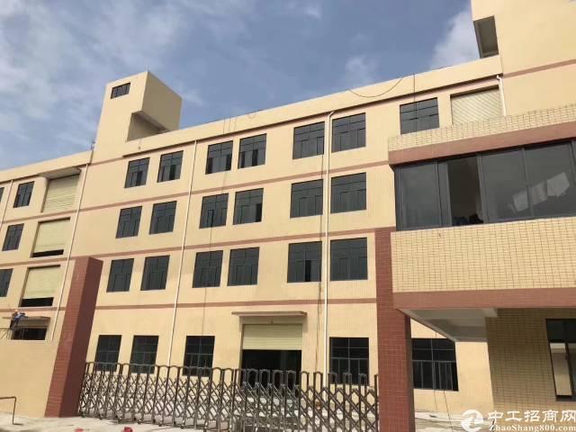 黄江镇中心附近全新出租厂房楼上一整层