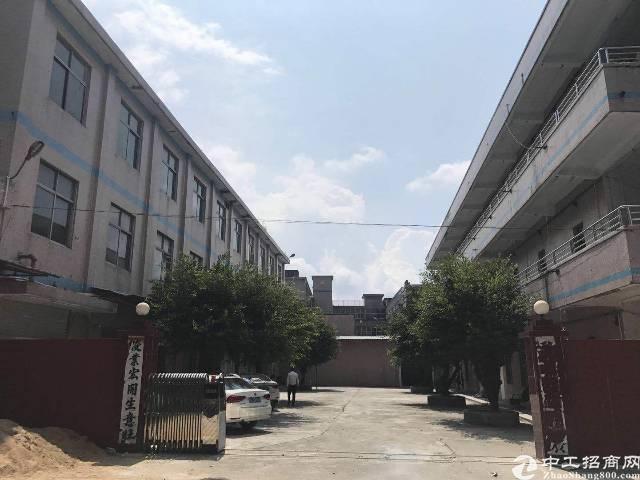 坪山深汕路边上新出独院厂房3层3600平宿舍1200租16