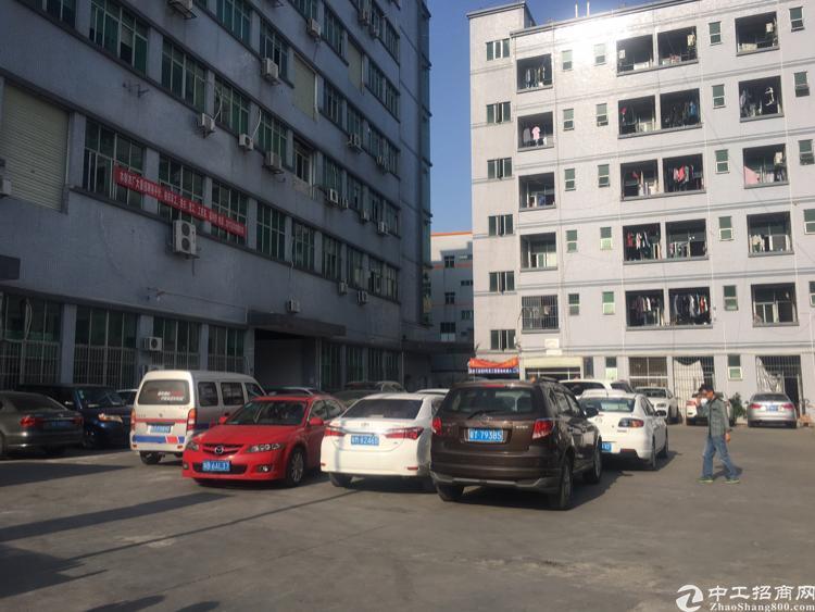 观澜桂花梅观高速口银星工业园楼上1200平带2部货梯