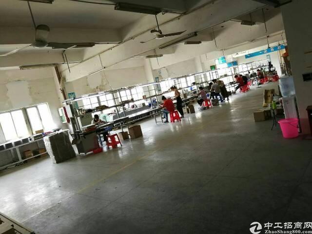 龙岗南联地铁站旁精装修厂房600平米出租