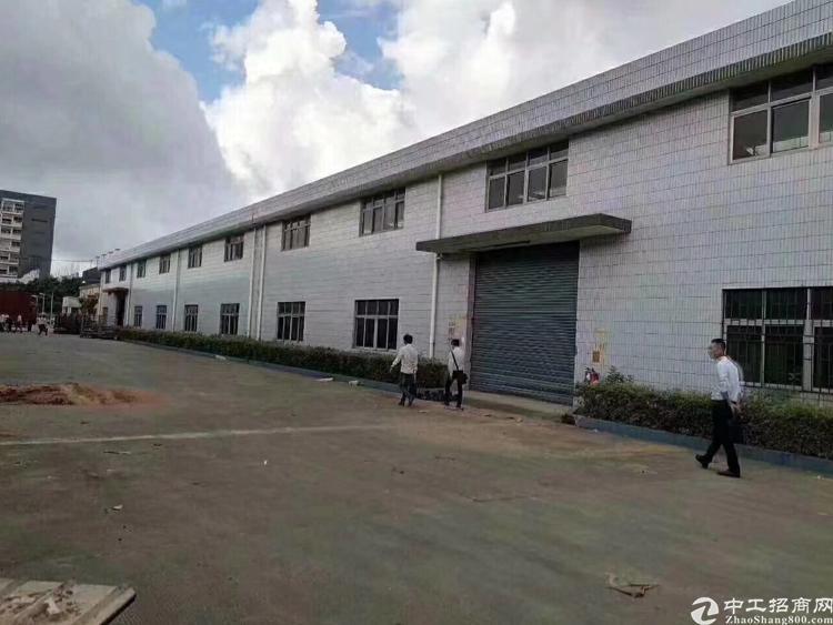 龙华新出单一层高12米钢结构厂房4528平招租