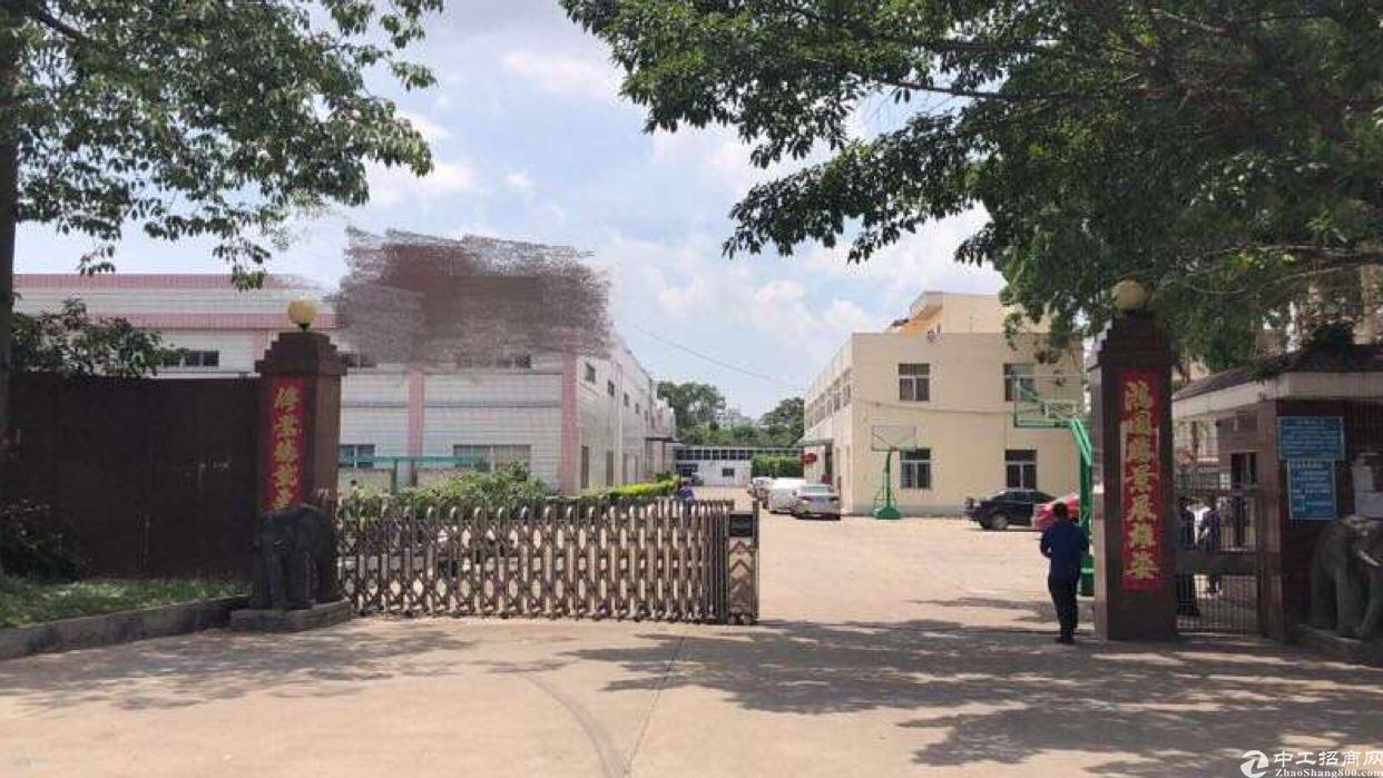 (招租)惠州仲恺高新区独院砖墙到顶钢构厂房5000平方