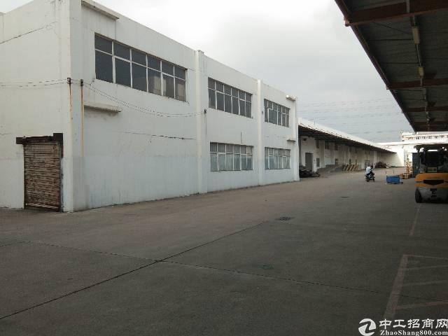 深圳观澜原房东大型物流园的靓盘16000平方钢构出租-图2