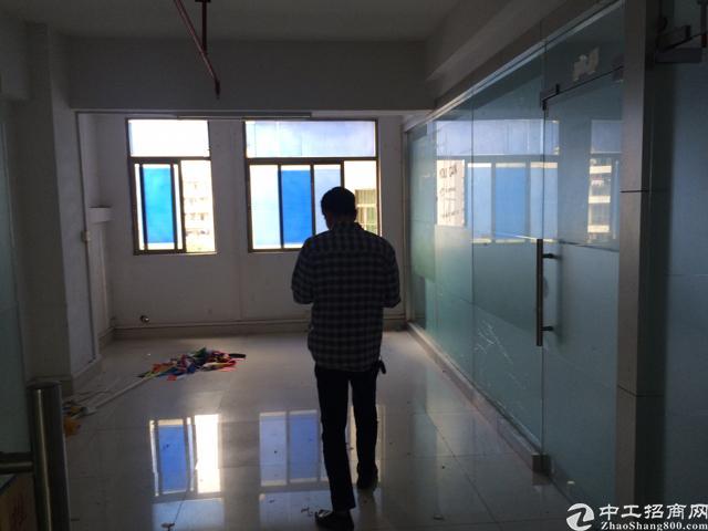 沙井后亭地铁口附近3000平精装修写字楼出租免中介费