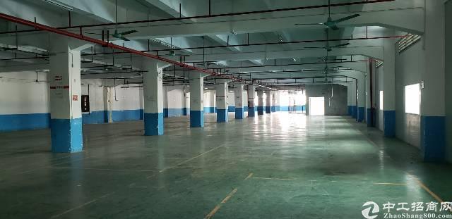 厚街镇繁华工业区楼上2400平方带地坪漆厂房出租
