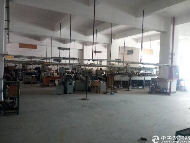 松岗溏下涌工业区三楼4000平方厂房出租