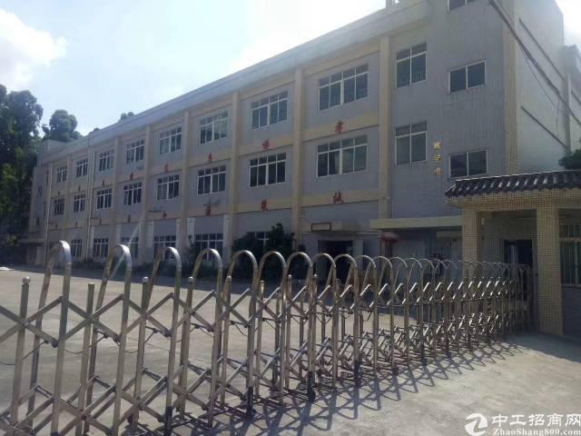 茶山新出原房东标准独院厂房1-3层4500平,一楼高度6米,