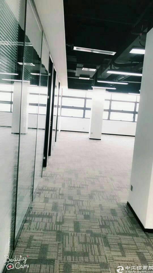 松岗带空调红本写字楼480平方原房东出租