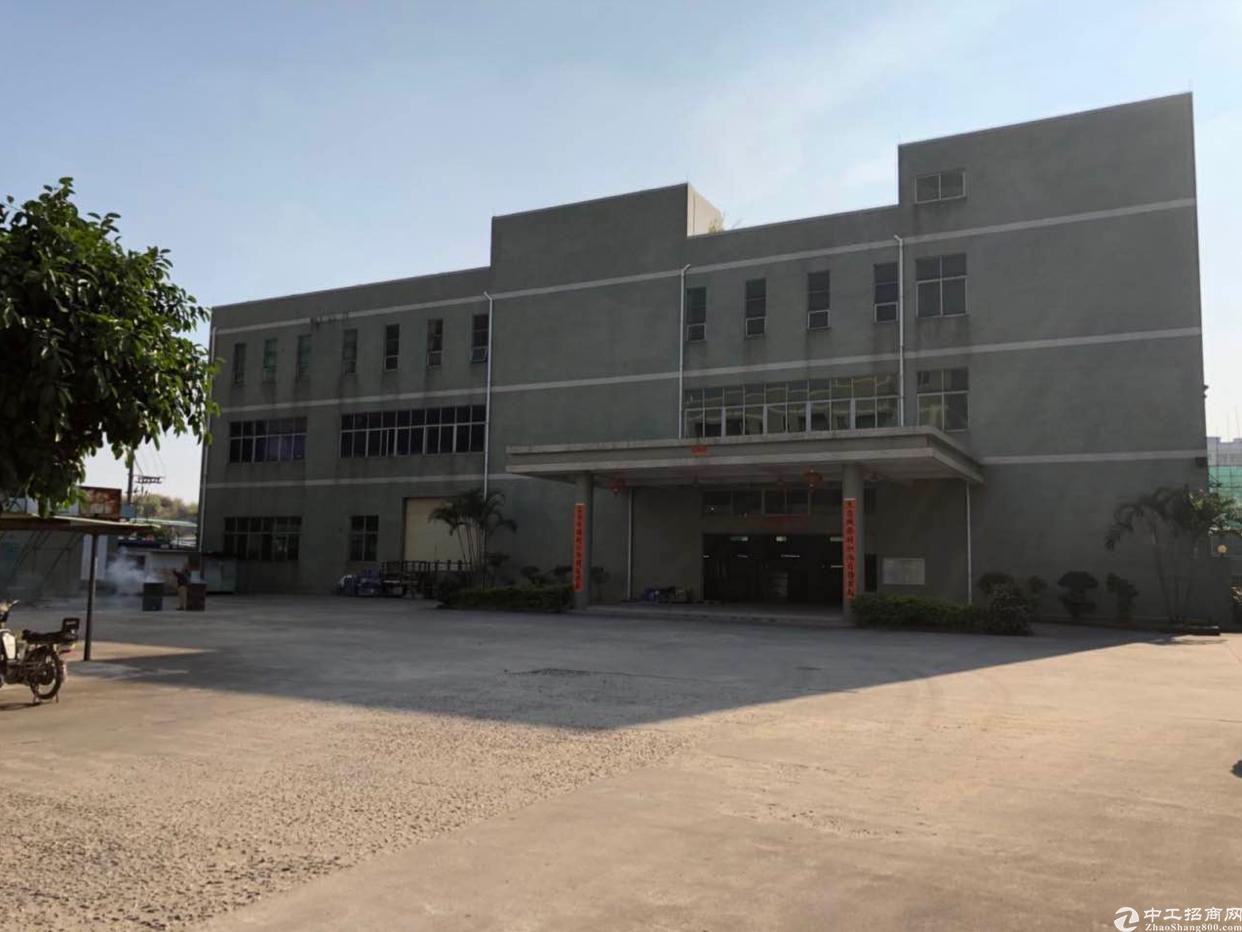 东莞市大朗镇靠近松山湖原房东标准厂房出租