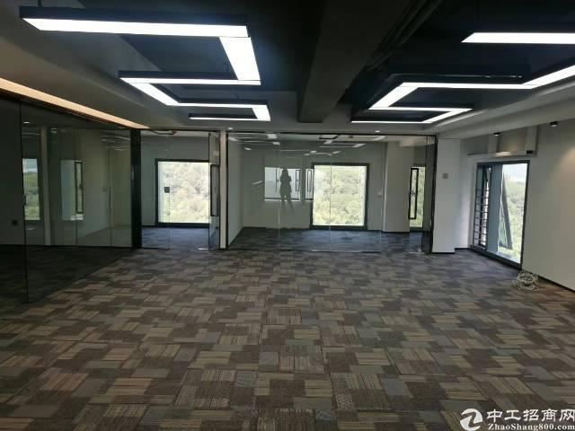 出租)西乡地铁口 满京华SOHO艺峦 双面采光 业主直租