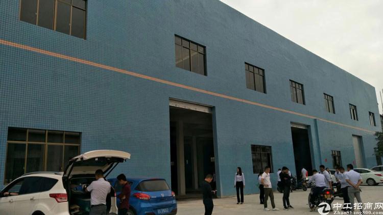新塘镇独栋二层全新厂房