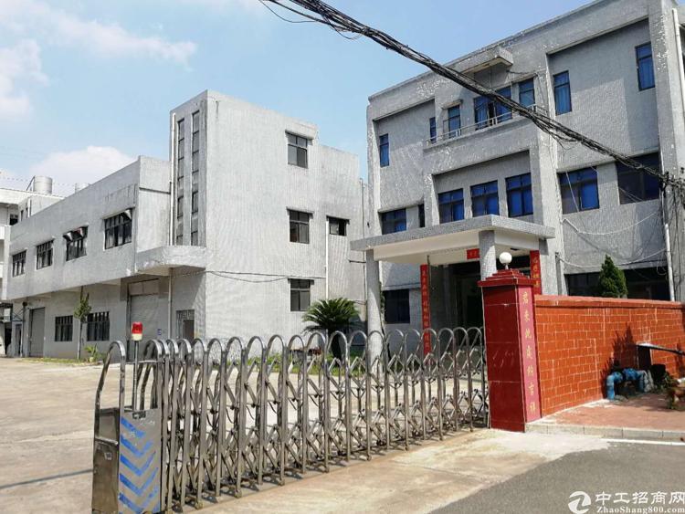 横沥镇新出两层标准6米高厂房2700平方,宿舍1000