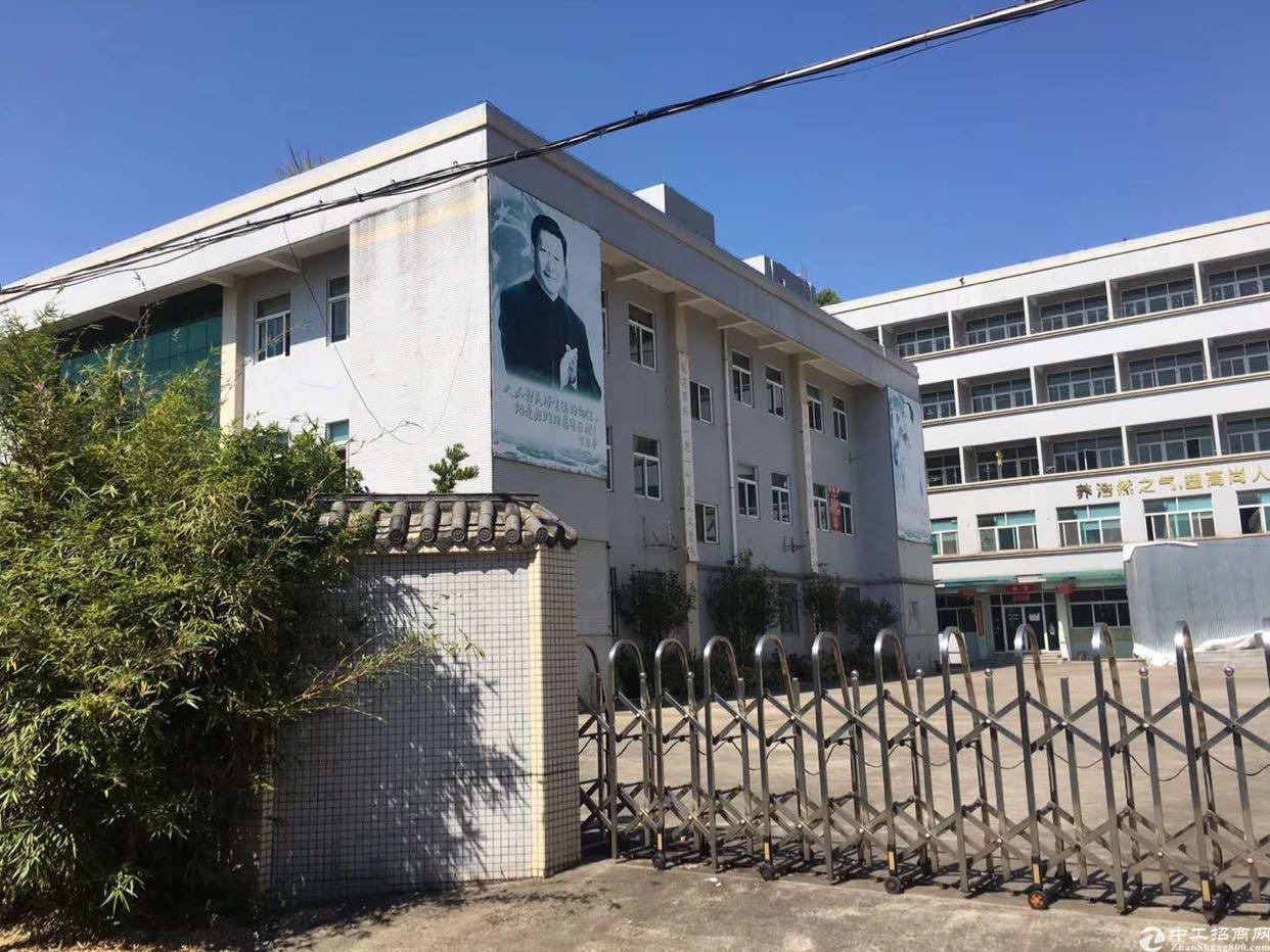 南城水廉山附近新出独门独院标准厂房出租!