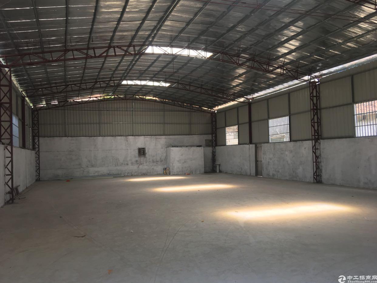虎门镇东风工业区独立全新铁棚厂房有隔热层500平米