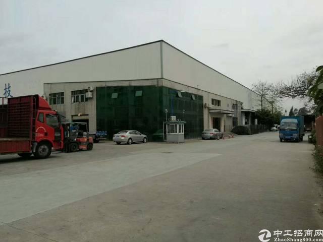 沙井10米高钢构厂房7000平米出租