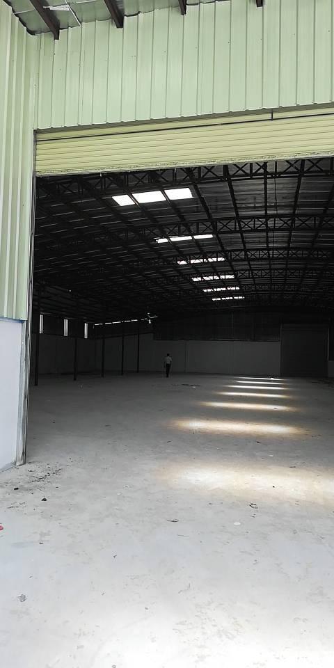 新出道滘镇西部干道旁单一层厂房