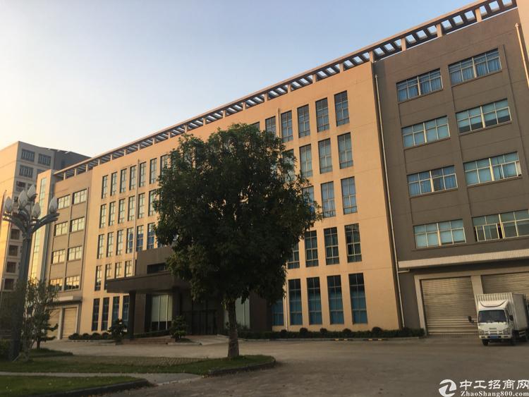 凤岗雁田红本标准独院厂房1-5层43600平方米带行车出租