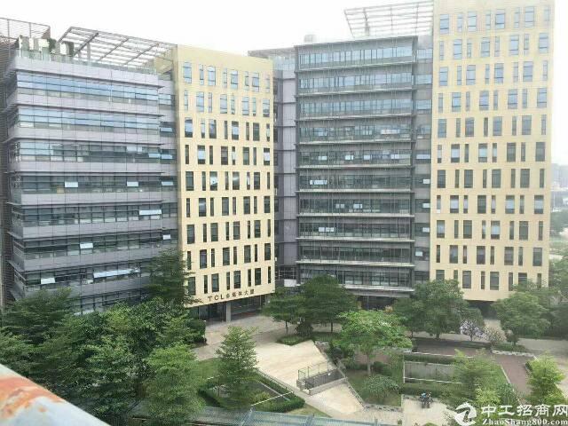 松岗原房东花园式写字楼850平方研发办公