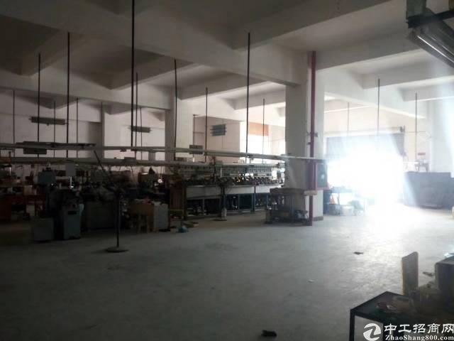 松岗靠近沙井重工业厂房,8楼1050平方,租金23块,四部货
