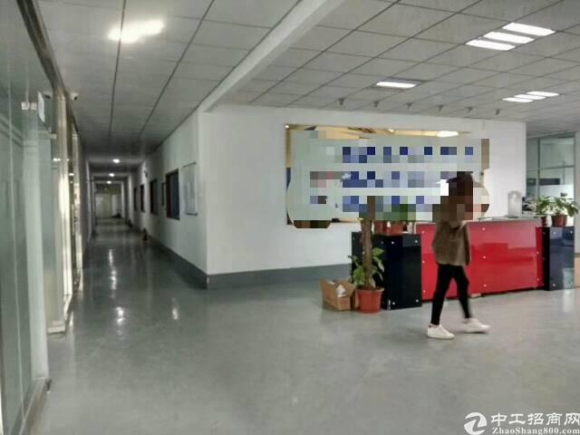 沙井共和楼上2100平精装修厂房招租-图4