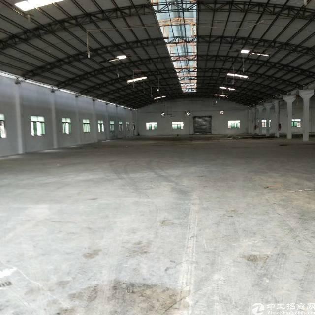 万江新出单一层厂房6000平方可分租