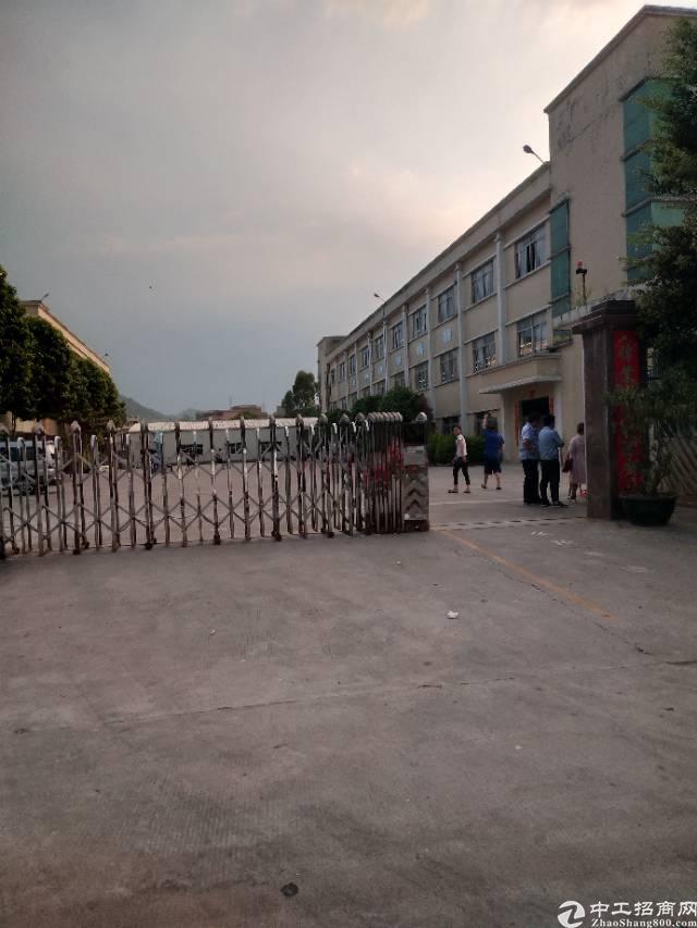 谢岗镇原房东独门独院标准厂房1-3层3800平方13元出租