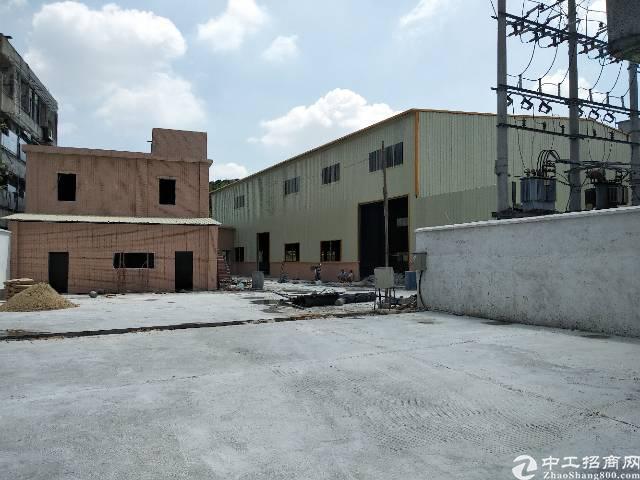 茶山独门独院钢结构厂房出租2000平方