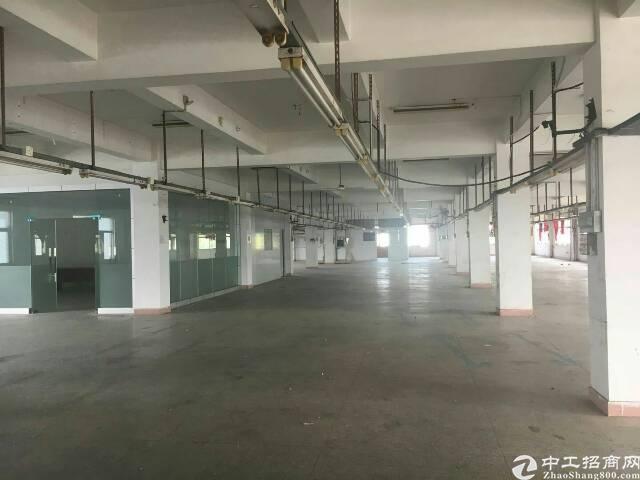 横岗大康社区厂房3楼1600平方出租