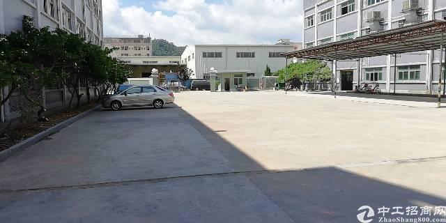 黄江镇靠近龙见田加油站新出独门独院标准厂房12000平方出租