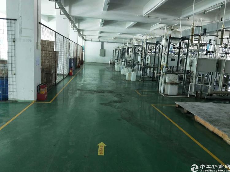 道滘原房东二楼厂房800平 地坪漆 现成办公室
