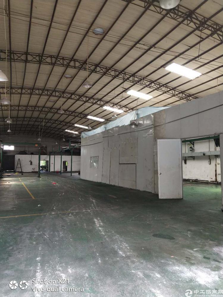 寮步新出独栋厂房,面积2800单一层铁皮房