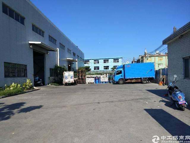 沙井107国道边单层厂房3000平米出租