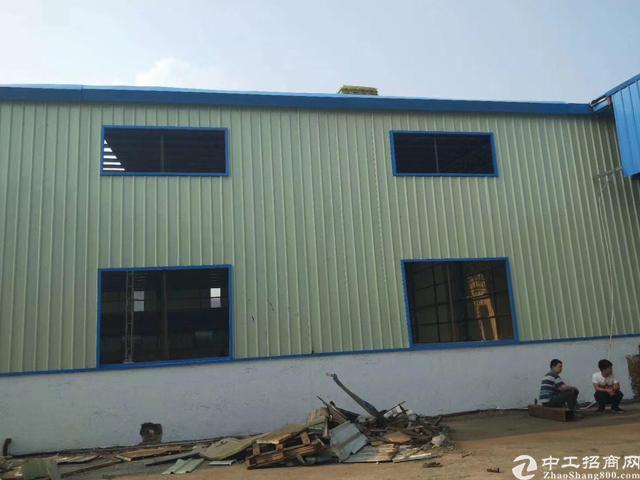 全新钢构厂房,5000平方带宿舍。