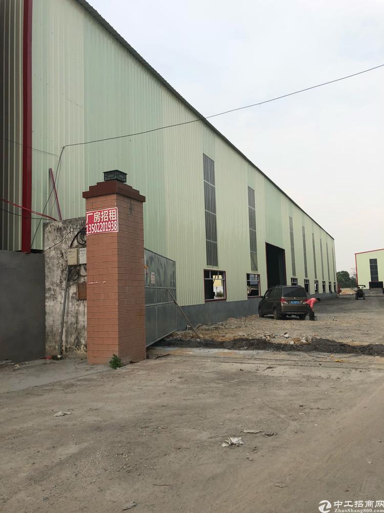 全新独院单一层钢构厂房
