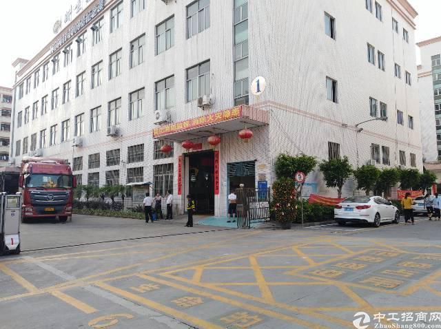 沙井共和新出原房东独院1-3层6800平米厂房出租