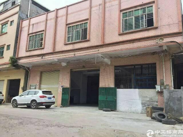 大岭山独栋厂房一楼780平低价出租