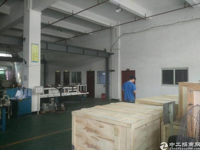 标准厂房一楼招租,带地坪漆,精装办公室。