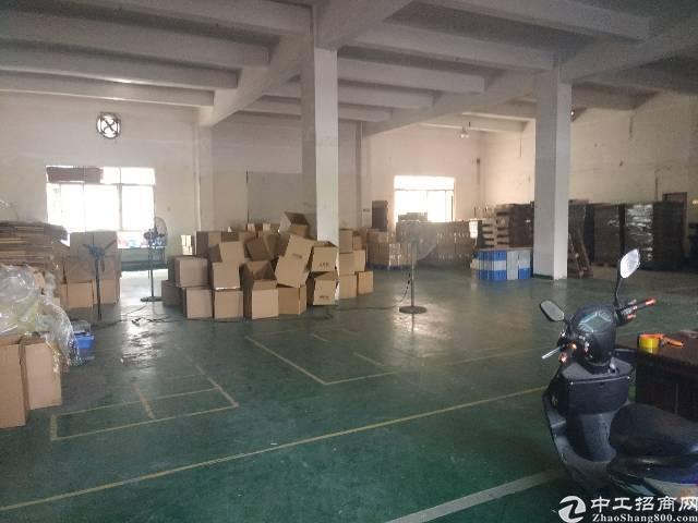 福永白石厦107国道边大园区新出一楼厂房850平方招租