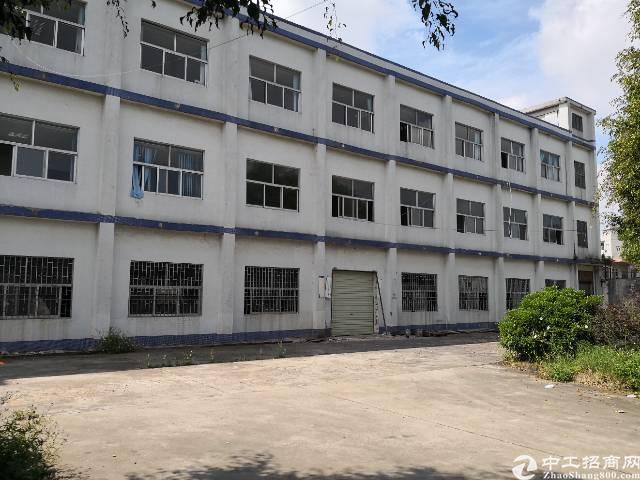 虎门原房东标准一楼厂房出租面积1850平租9元电400kva