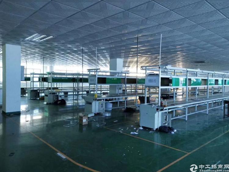 福永和平新出大型工业区1800平米带装修厂房