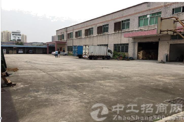 横沥镇占地 9.5 亩建筑 6000 ㎡国有证厂房出售
