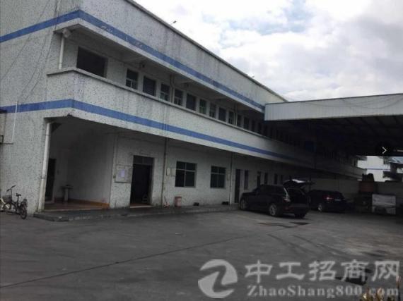 樟木头镇占地 5500 ㎡建筑 5200 ㎡政府合同厂房出售