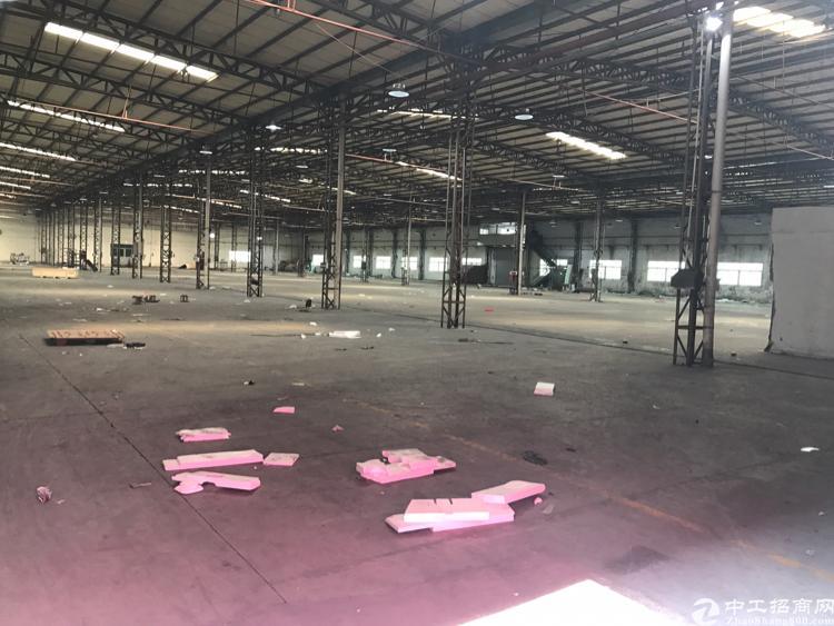 坪山新出钢构厂房5000平米招租 层高5米