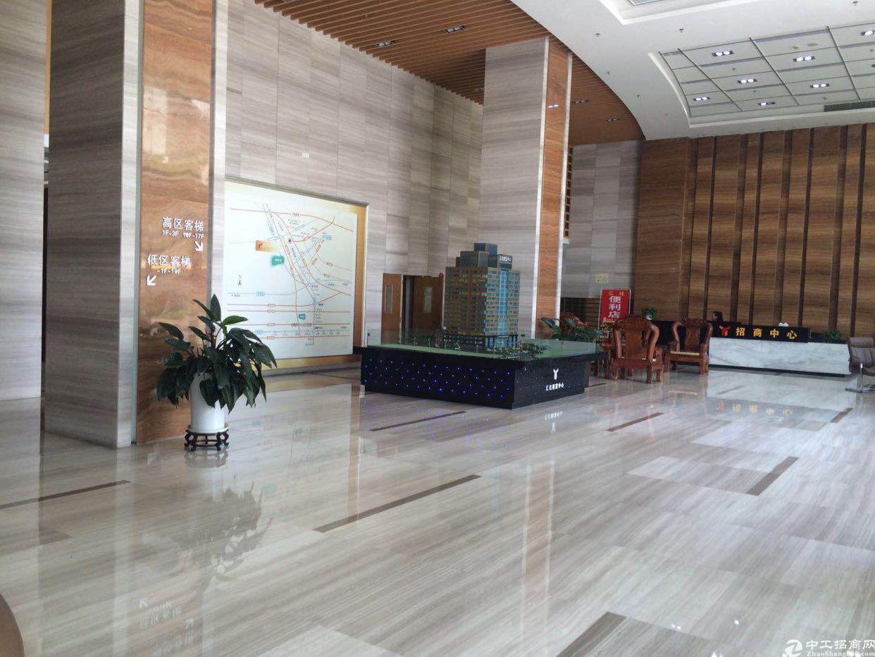 龙华大浪商业中心新出400平精装修办公室加小仓库