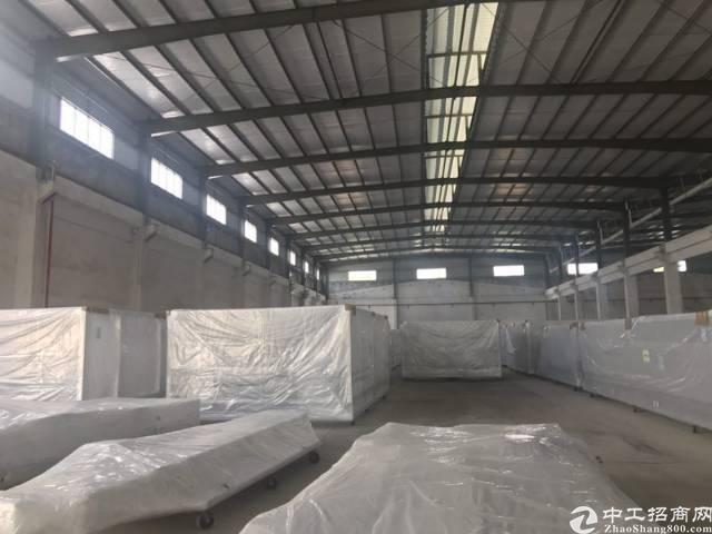 坪山石井新出7000平钢构厂房,滴水10米。