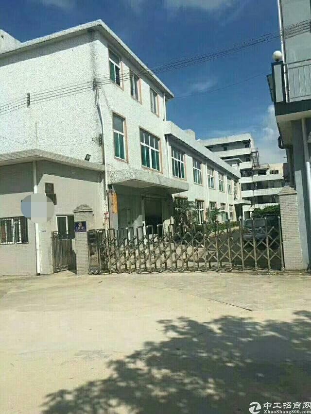 松岗中学附近独院2600平带装修厂房出租