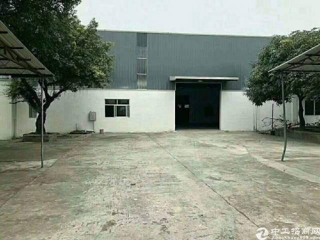 洪梅镇独院9成新标准厂房,厂房1-2层